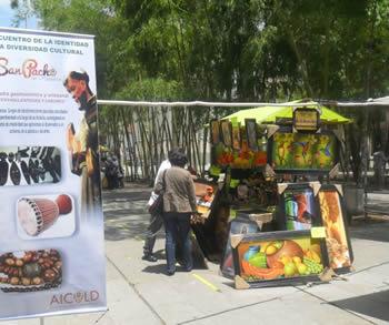 gastronomia y muestra cultural