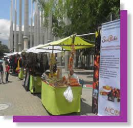 Muestra cultural, artesanal y gastronomica